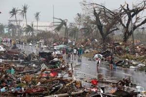 Typhoon Haiyan, known locally as Yolanda, struck in 2013 and was one of the most powerful storms ever recorded.