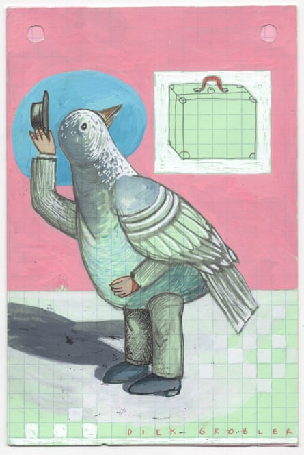 'Passenger Pigeon' by Diek Grobler from South Africa.