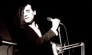 Phil Oakey of the Human League in 1980