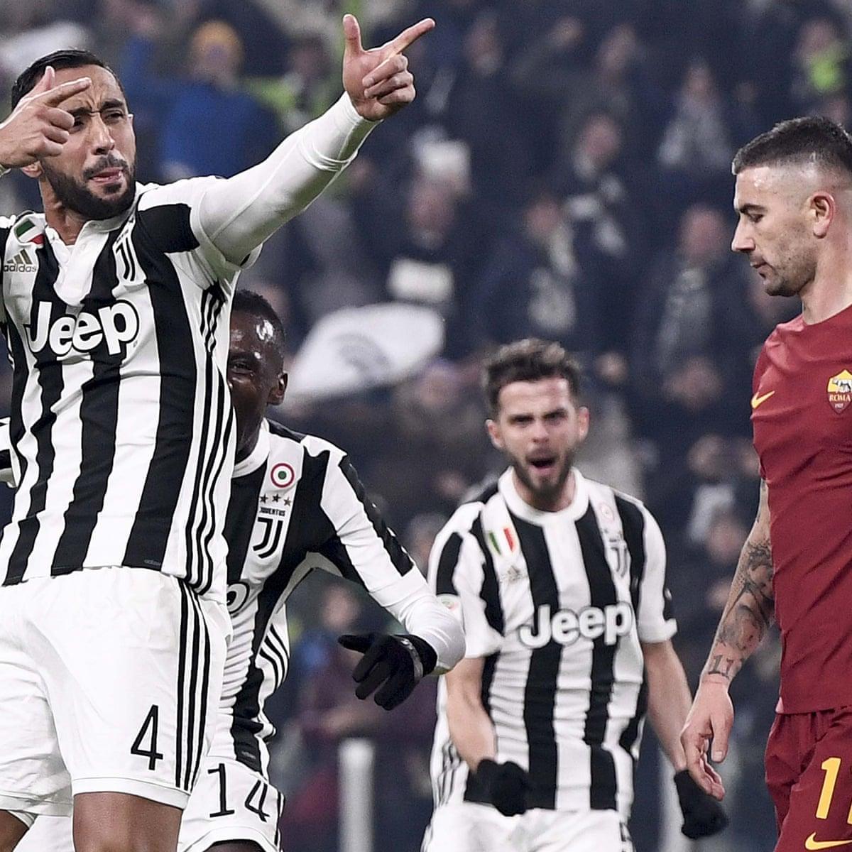 Juventus Buon Natale.Benatia Celebrates In Style As Juventus Win To Nil Yet Again Juventus The Guardian