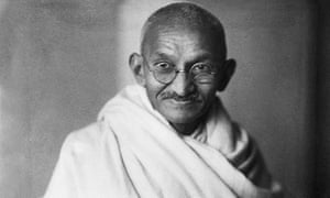 Mahatma Gandhi, whose teachings are covered in the Talking Politics: History of Ideas podcast.