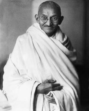 Mohandas K Gandhi , circa 1940.