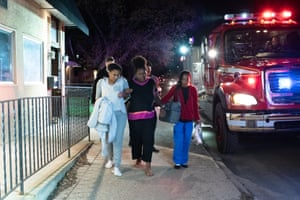Em'Mae Alexander is transferred from Roots Community Birth Center to North Memorial Health Hospital by ambulance. Midwife Rebecca Polston had begun hearing decelerations that concerned her.