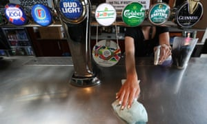 Treasury has been criticised for appearing to encourage pub goers to 'grab a drink' when venues reopen in England this weekend.