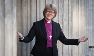 The new bishop of London, the Rt Rev Sarah Mullally