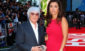 Aparecida Schunck is the mother of Bernie Ecclestone's wife, Fabiana Flosi