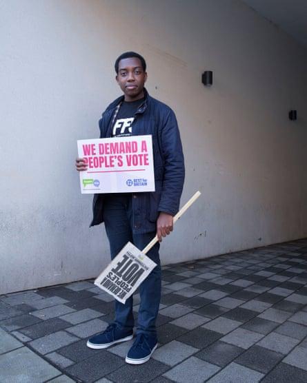 'Use privilege to make change': Amatey Doku.