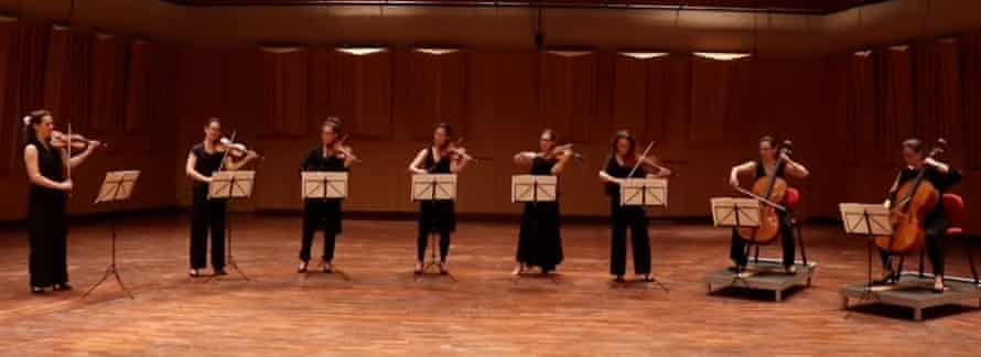 Seeing double? Malin Broman performs all eight parts of Mendelssohn's String Octet's Presto