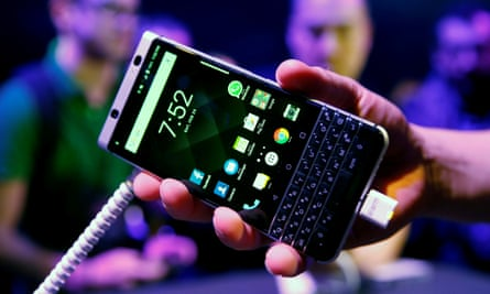 BlackBerry smartphones still exist, but now they're made by TCL and run Android.