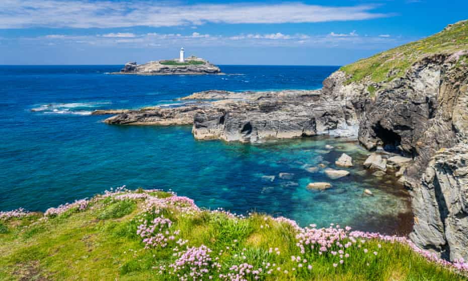 The Godrevy Lighthouse from Godrevy Point