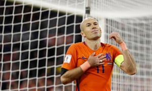 Arjen Robben retired last week after Holland failed to qualify for a second major tournament in a row.