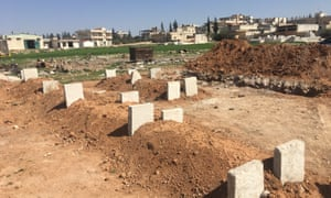Graves in Syria