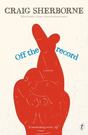 Cover image for Off the Record by Craig Sherborne