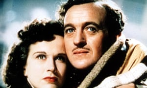 'Love is about sacrifice and sacrifice is about love' ... Kim Hunter and David Niven in A Matter of Life and Death