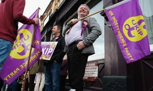 Ukip supporters in Hartlepool.