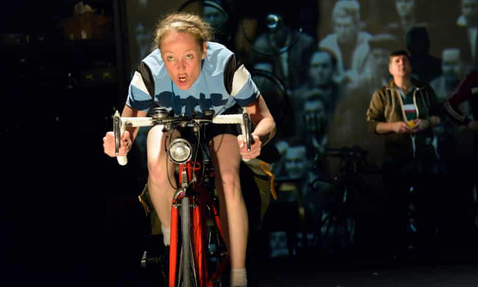 Battles to be the best … Penny Layden in Beryl at the West Yorkshire Playhouse in 2014