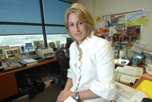 Heather Bresch, chief operating officer of Mylan Pharmacueticals, sits in her office in Canonsburg, Pennsylvania.