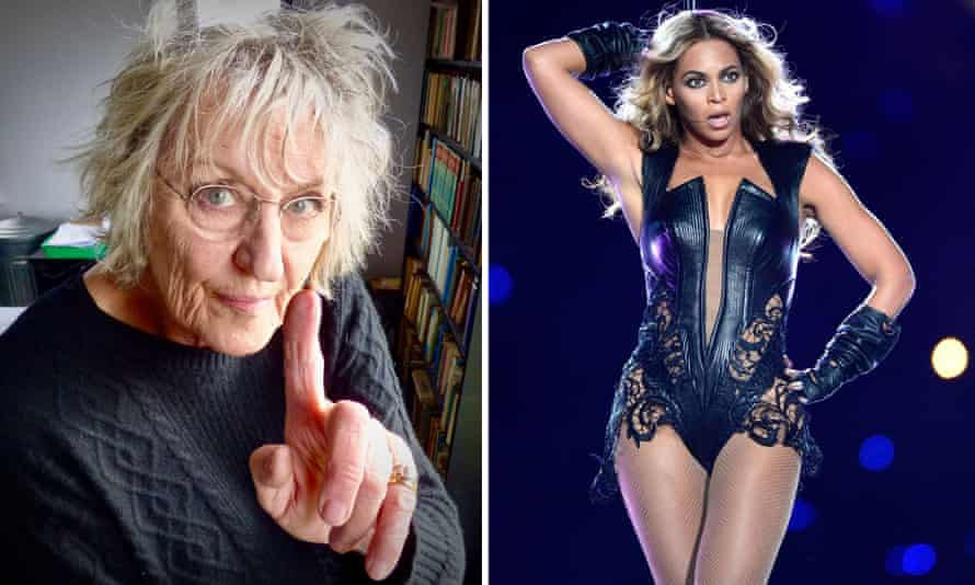 Germaine Greer and Beyoncé.