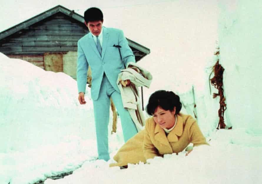 Tetsuya Watari and Chieko Matsubara in Tokyo Drifter.