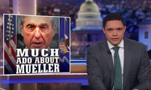 'According to president Trump, it's total exoneration. According to the Democrats, it's the road to impeachment' ... Trevor Noah