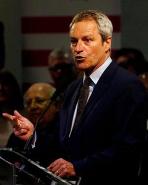 Gavin Esler, a candidate for Change UK.