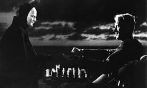 The chess match with Death in The Seventh Seal.