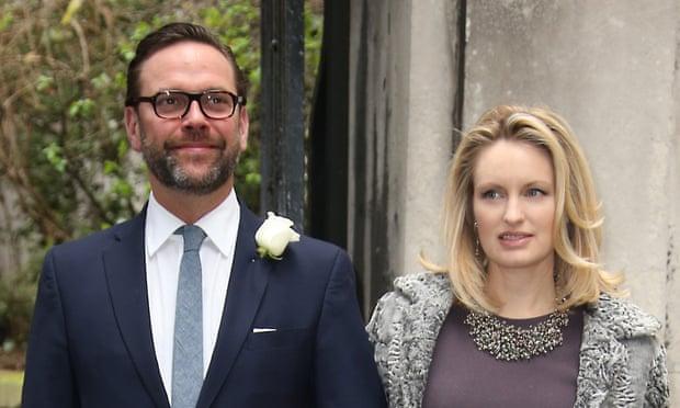 James and Kathryn Murdoch.