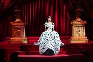 Milan, Italy A model walks the runway at the Dolce & Gabbana show at Milan Fashion Week