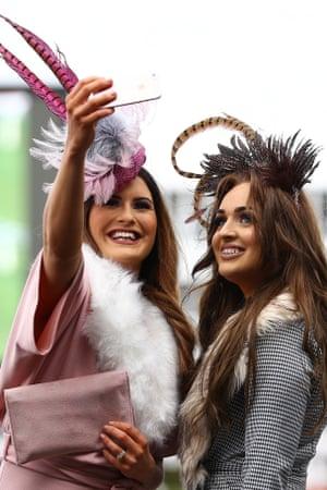 Cheltenham, UKLadies Day at the Cheltenham Festival horse-racing event