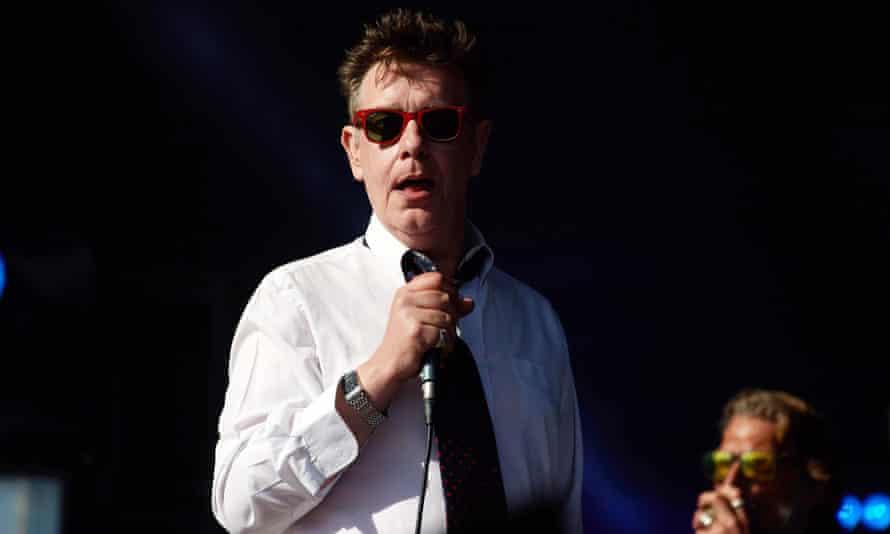 Jake Black performing in Glasgow last year.