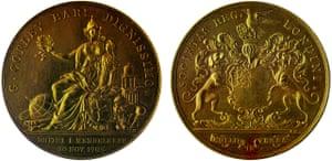 Copley Medal awarded to Dmitri Mendeleev