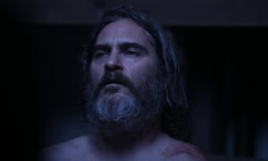 Joaquin Phoenix in You Were Never Really Here.