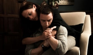 'Submergence feels like a clumsy melange, a confused adaptation made by people who don't seem quite sure exactly what they have on their hands' ... Alicia Vikander and James McAvoy.