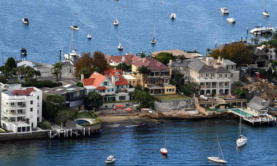 Waterfront properties in Point Piper