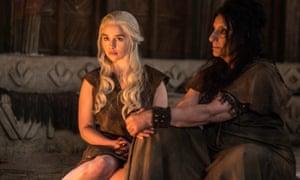 It's best not to make Dany mad … Emilia Clarke as Daenerys Targaryen.