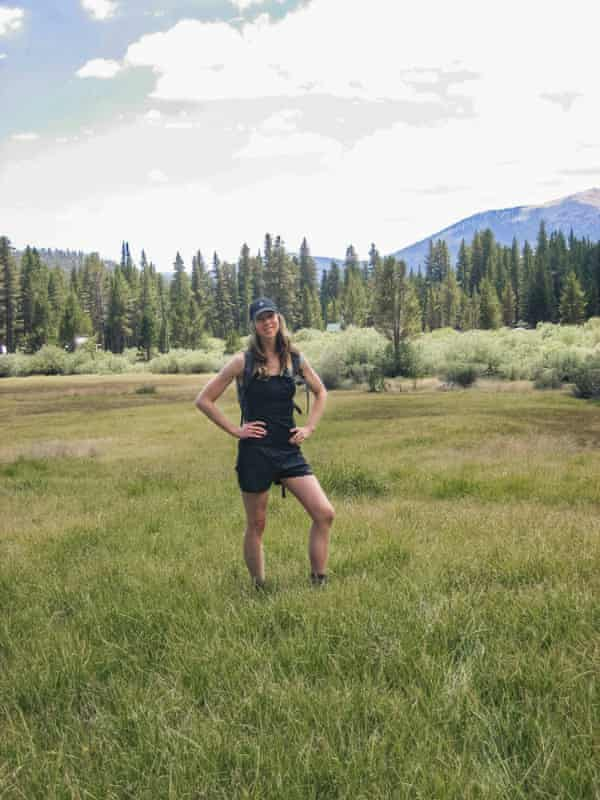At a grassy alpine meadow in the Sierras, two days after reuniting with Mountain Man.