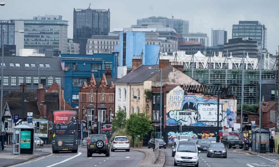Traffic returns to Birmingham.