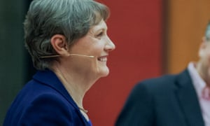 Helen Clark. 'I won the public vote, I won the social media scene, I won the staff votes – all of that, but it didn't matter at all.'