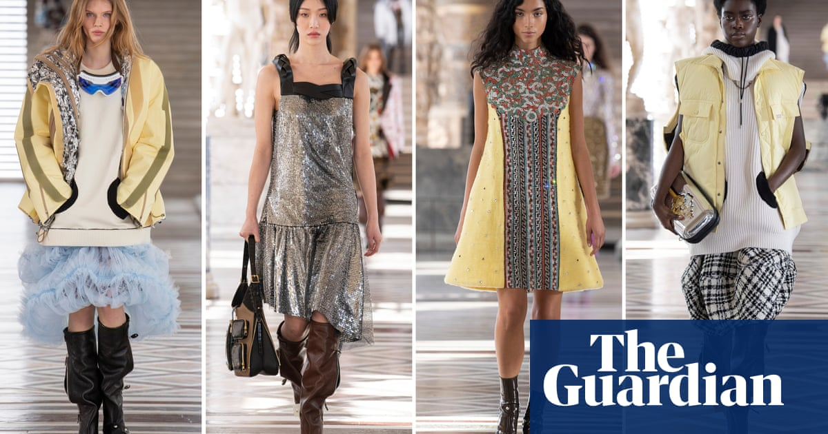 Louis Vuitton closes first audience-free Paris fashion week in Louvre
