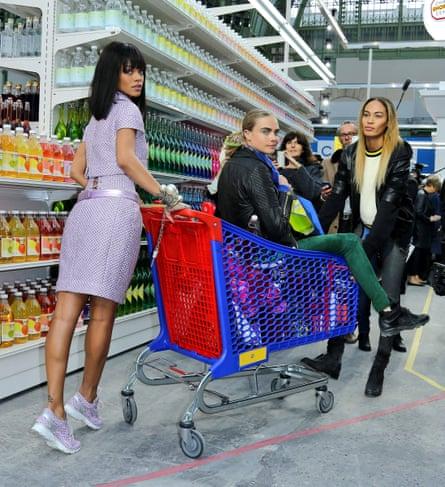 Domestic fantastic … Chanel's autumn/winter 2014 show for Paris fashion week