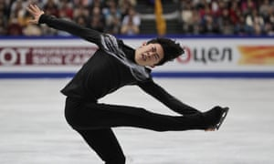 Nathan Chen beats out Yuzuru Hanyu to defend world figure