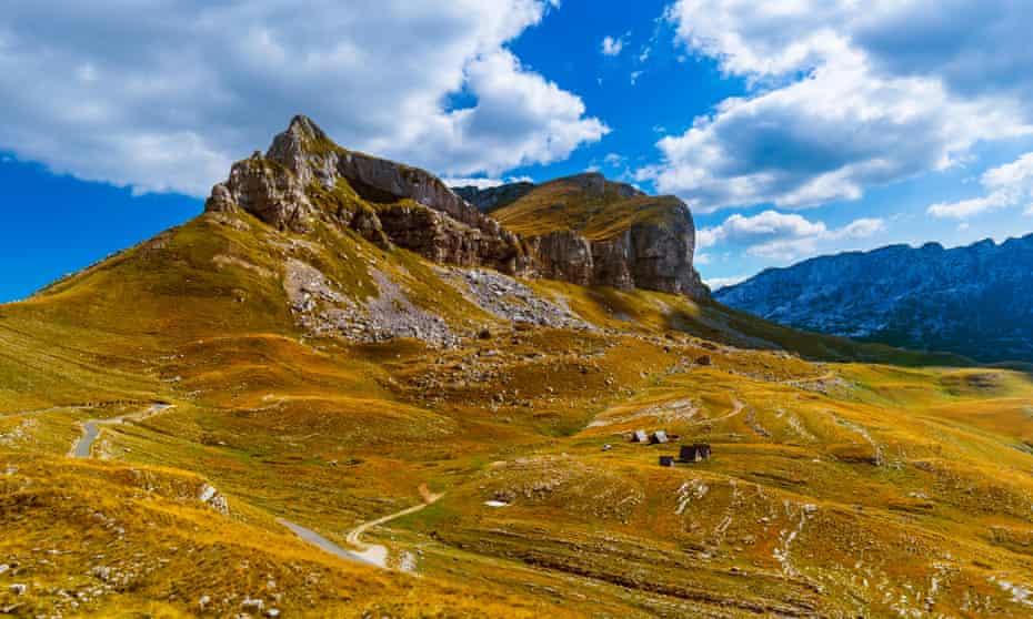 Montenegro's Durmitor massif in autumn.