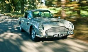 the James Bond model Aston Martin, the DB5