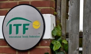 Pictured is the International Tennis Federation in London, where the Tennis Integrity Unit is based