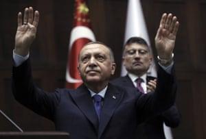 Turkish president and News Corp columnist Recep Tayyip Erdoğan