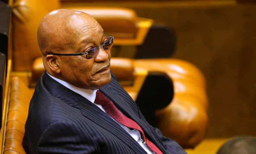 Jacob Zuma has battled several corruption scandals while in office.