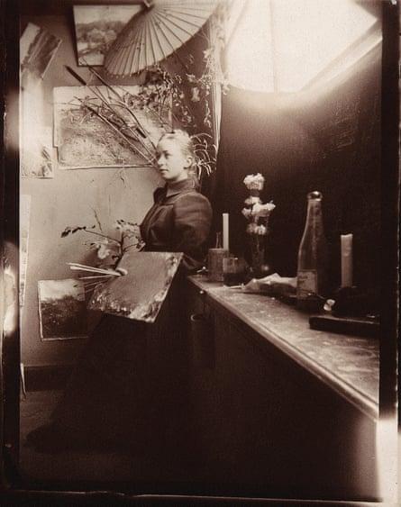 Hilma af Klint at the Royal Academy of Arts, Stockholm, 1885