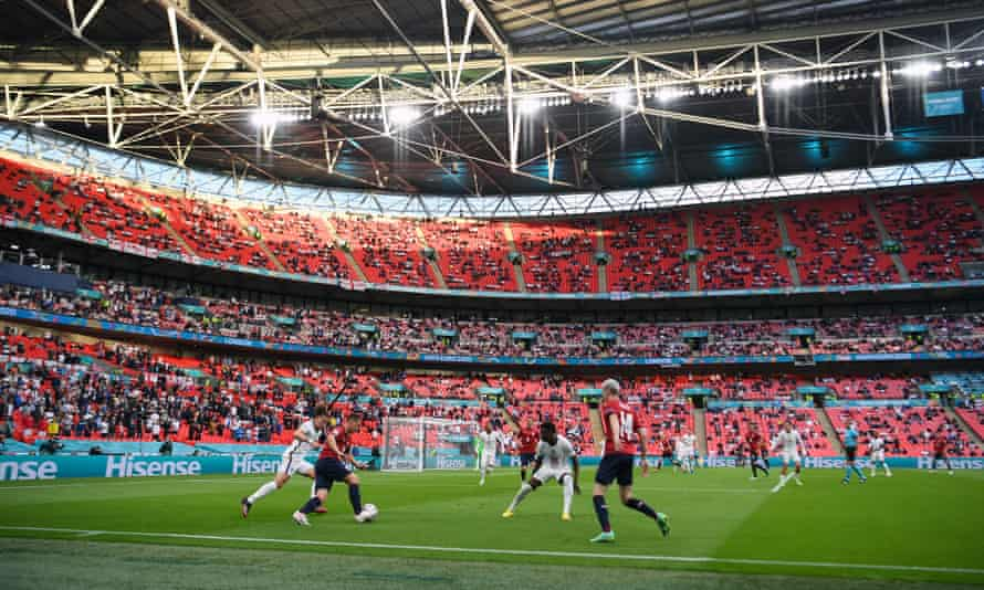 Wembley is due to host the final of Euro 2020 on 11 July.