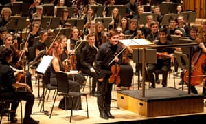 National Youth Orchestra at the Barbican, London.