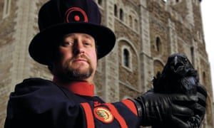 Christopher Skaife, ravenmaster and yeoman's warder at the Tower of London